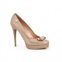 Дамски елегантни обувки от естествен лак CP-2039/1