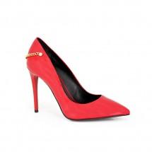 Дамски елегантни обувки от естествен лак CP-2559