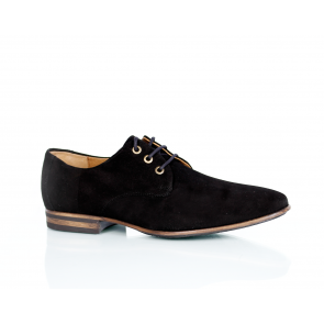 Male shoes natural black suede CP-4487-S7