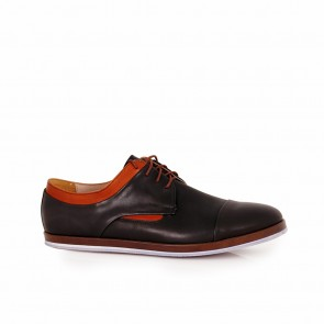 Male sports leather shoes  CP-935S/04-brown