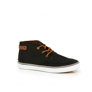 Male sneakers black eco nubuck  48518