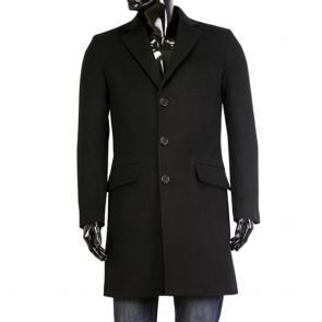 Male black coat wool MP-9405