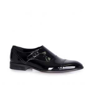 Мъжки официални обувки от естествен лак