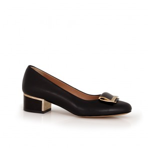 Ladies leather shoes  NL-54-57