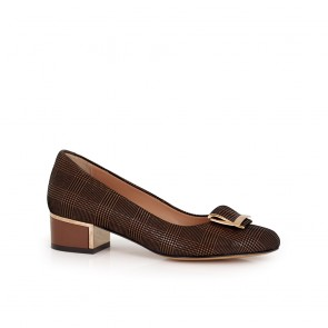 Ladies leather shoes NL-57-65