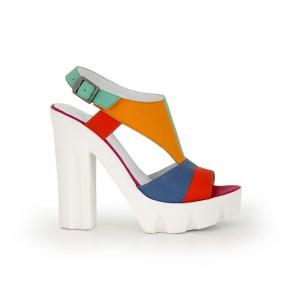 Ladies sandals leather H1-15-682